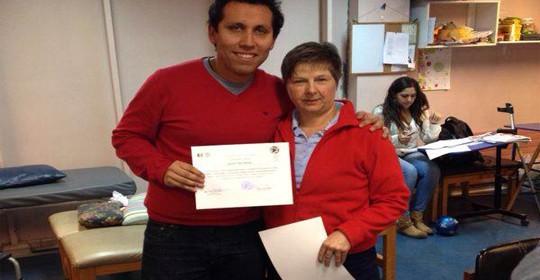 Felicitaciones a Gustavo Ulloa