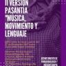 """II Versión Pasantía """"Música, Movimiento y Lenguaje"""""""