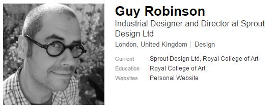 Workshop en Diseño Inclusivo, Sr. Guy Robinson